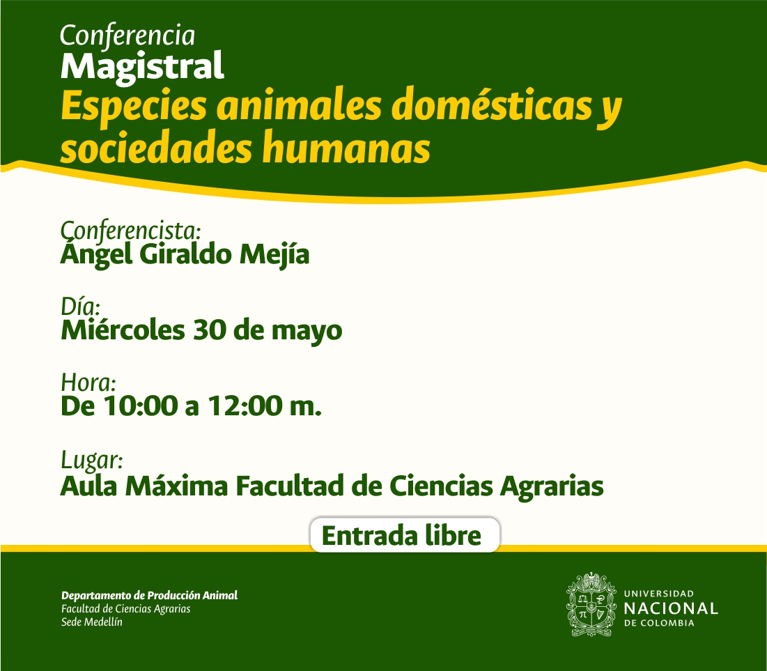 CONFERENCIA MAGISTRAL ANGEL G